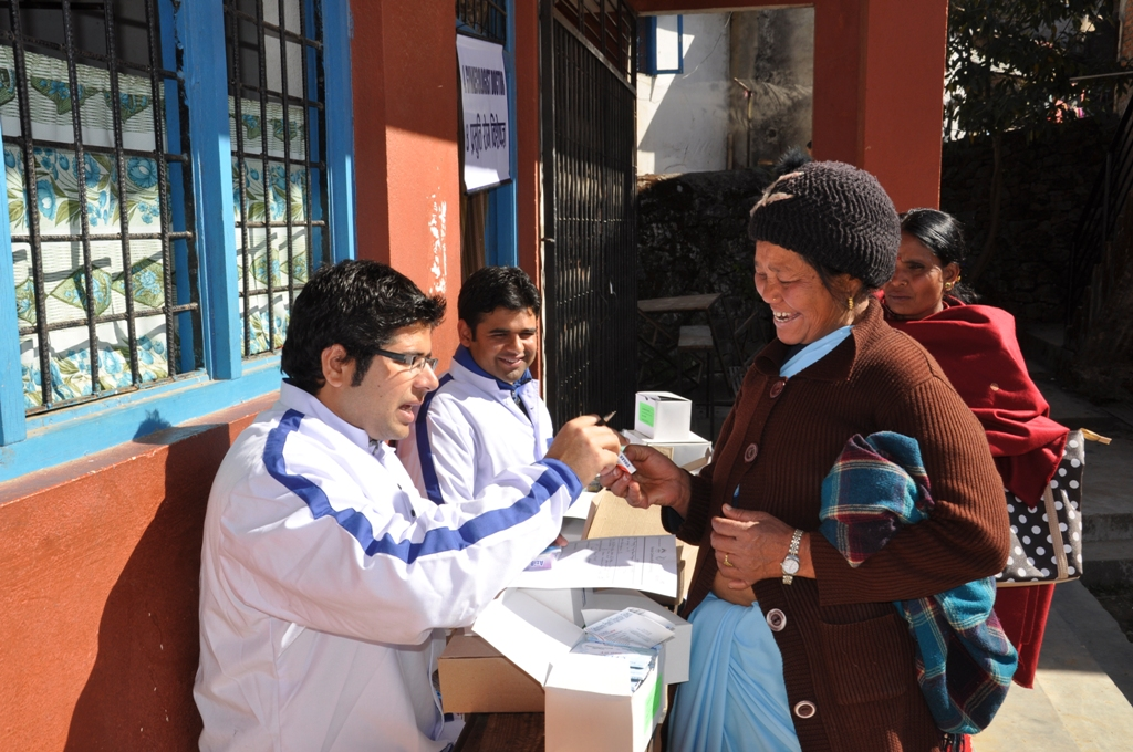 Health Camp (Rani Pauwa-Nuwakot)