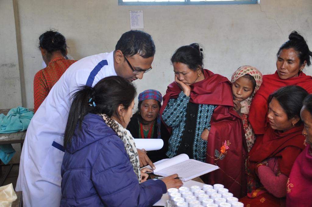 Health Camp (Rani Pauwa-Nuwakot)